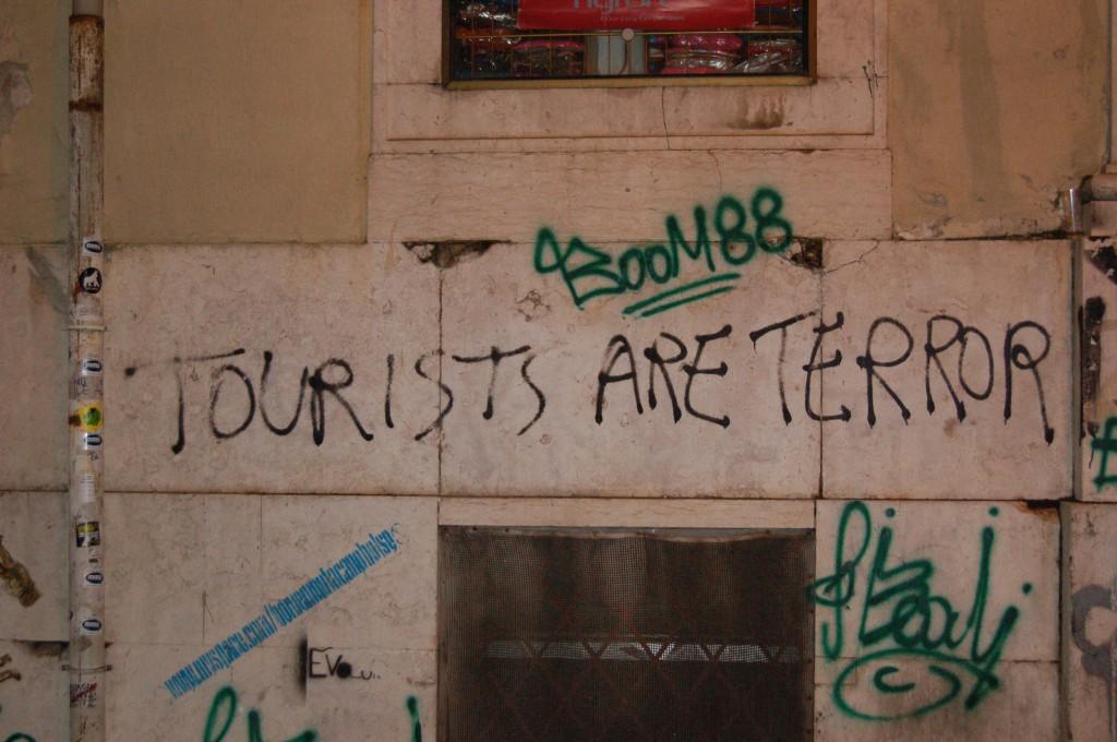 Tourismus ist Terror